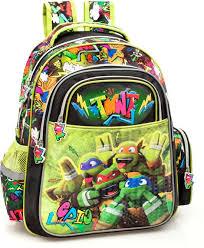 ninja turtles rugzak 39 cm hoog groen