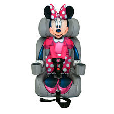 minnie mouse friendship combination booster car seat from kidsembrace