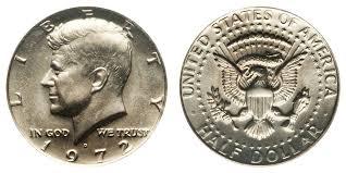 1972 Kennedy Half Dollar Value Chart 1972 D Kennedy Half Dollar Coin Value Prices Photos Info