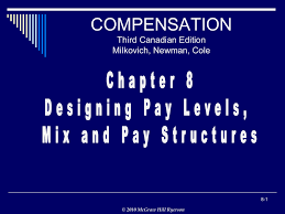 Designing Pay Levels Mix And Pay Structures Chapter 8