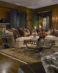 Old World Decorating Accessories Sebastian sectional sofa expresses elegant theme complementing 6