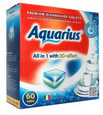 <b>Таблетки AQUARIUS для ПММ All</b> in1 60 таб.. - купить по лучшей ...