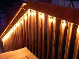 deck lighting ideas. Easy \u0026 Cheap Deck Lighting @Josée Belleau Alexius Ideas