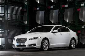 2012 Polaris White Jaguar XF Front  A