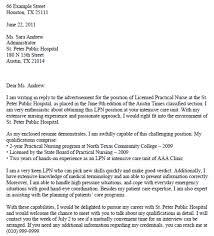 lpn nursing cover letter sample lpn resume cover letter for lpn sample lpn resumes