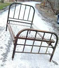 antique iron bed frames. Unique Antique Fashionable Antique Wrought Iron Bed Twin Frame  Metal Gorgeous Vintage  And Frames E