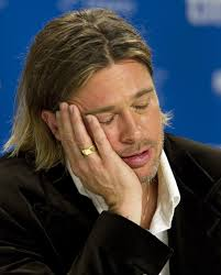 boring famous people. brad-pitt-was-bored-with-jennifer-aniston boring famous people
