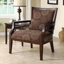 living room accent chairs with arms chairs awesome accent with wood arms on living room with