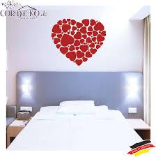hearts wall decal heart love wedding bedroom wall sticker wall art mural
