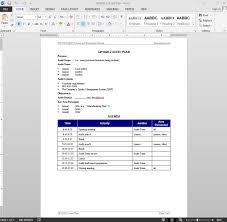 Audit Forms Templates Weruin
