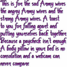 Wife Quotes Enchanting Thoughts As An Army Wife Army Wife Quotes