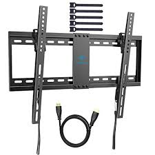 Low profile tv wall mount Inch Perlesmith Tilt Low Profile Tv Wall Mount Bracket For Most 3270 Inch Led Lcd Oled And Plasma Flat Screen Tvs With Vesa Patterns Up To132lbs 600 400 Amazoncom Amazoncom Perlesmith Tilt Low Profile Tv Wall Mount Bracket For