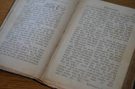 vine book old german hymn book breslauer gesangbuch 1910 leather bound funky flamingo