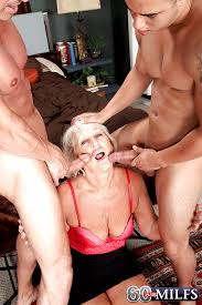 60 plus milf double penetration