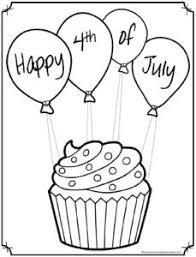 Then you can simply select the black and white version of any design your child wants to color, and then click to print it. Free 4th Of July Coloring Pages