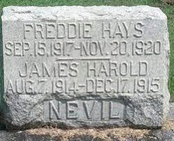 James Harold Nevil (1914-1915) - Find A Grave Memorial