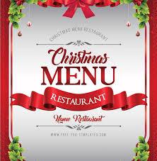 Christmas Menu Free Psd Mockup Responsive Joomla And Wordpress Themes