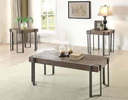 industrial style coffee table diy