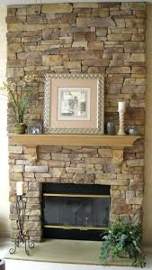 ... Stone Fireplace Makeover Photos Large Remodel 1970s ...