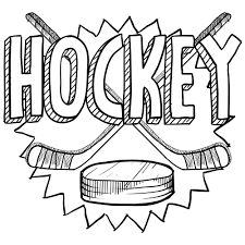 Hockey Coloring Page Adult Coloring Pages Pinterest Hockey