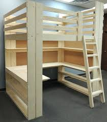 office desk bed. Bedroom Makeovers Using Loft Beds By College Bed Lofts Orqueen Bunk With Desk Plans And Stairs Office