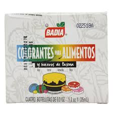 Colorante De Alimentos