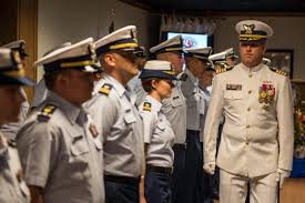 File U S Coast Guard Capt Anthony S Lloyd Right