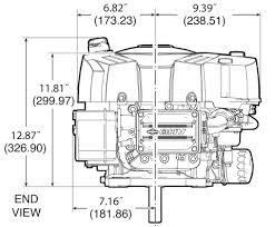 small engine surplus com r briggs stratton briggs stratton 19 hp 33r877 0003