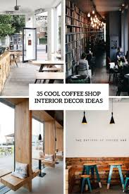 35 Cool Coffee Shop Interior Decor Ideas