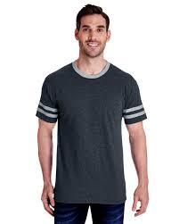 Jerzees T Shirt Size Chart Jerzees 602mr Mens Tri Blend Varsity Ringer T Shirt