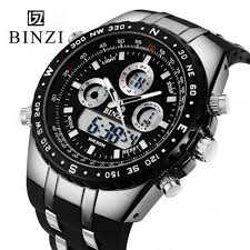 binzi brand sports wrist watch men s military waterproof additional savings