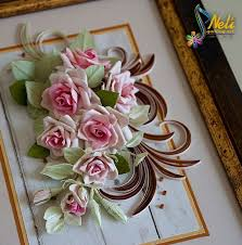 Paper Quilling Flower Bokeh Superb Examples Paper Quilling Rose Flowers Step By Step