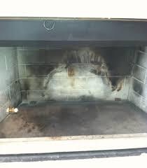manan woodburning fireplace before
