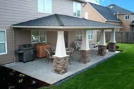 cost to build covered porch patio cover estimator building construction labor r7