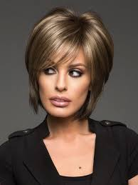 Images Of Short Hairstyles 77 Amazing Reese Synthetic Wig Basic Cap Platinum Highlights Chocolate