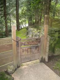 Small Picture 85 best Fence Gates images on Pinterest Japanese gardens Zen