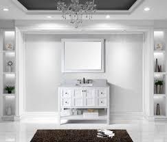 48 inch white bathroom vanity. Virtu USA Winterfell 48 Bathroom Vanity Cabinet In White Inch