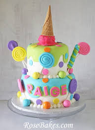 12 Candy Themed Ice Cream Cakes Photo Ice Cream Birthday Cake And