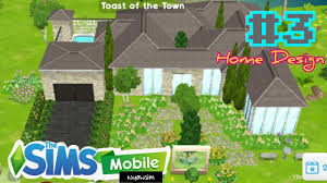 The Sims Mobile Home Design The Sims Mobile 3 Home Design Youtube