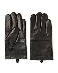Lyst - Calvin klein Black Quilted Leather Tech Gloves in Black for Men & Featured. Calvin Klein   Black Quilted Leather Tech Gloves for Men ... Adamdwight.com