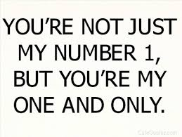 My One And Only Love Quotes Amazing One And Only All You Need Is Love On We Heart It