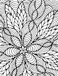 Small Picture Awesome Coloring Pages Difficult Abstract Pictures Coloring Page