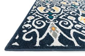 fresh navy ikat rug district17 catalina patterned rugs outdoor