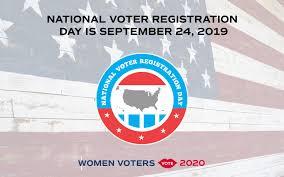 September 24th Is National Voter Registration Day 2019