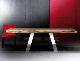 rotsen furniture single slab stainless steel. vero 9231 modern designer italian dining table handmade in wood with a stainless steel finish rotsen furniture single slab