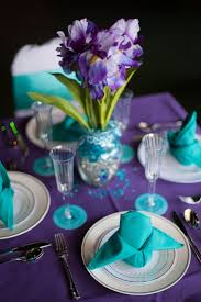 Blue And Gold Table Setting 17 Best Ideas About Purple Table Settings On Pinterest Purple