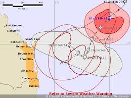 Ballina Tide Chart Tropical Cyclone Watch Bundaberg To Ballina Including