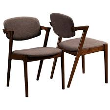 romm mid century modern dining chairs set of 2