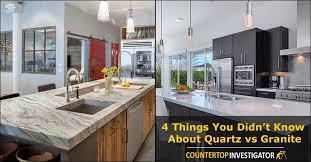 Granite Versus Quartz Countertops Pros And Cons