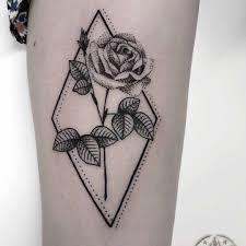 Dotwork Rose Tattoo Rose Tattoos тату